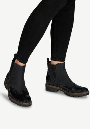 CHELSEA BOOT - Ankle Boot - navy comb
