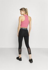 Nike Performance - CROP - Medias - black/white - 2