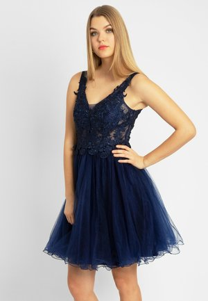 Cocktail dress / Party dress - navy