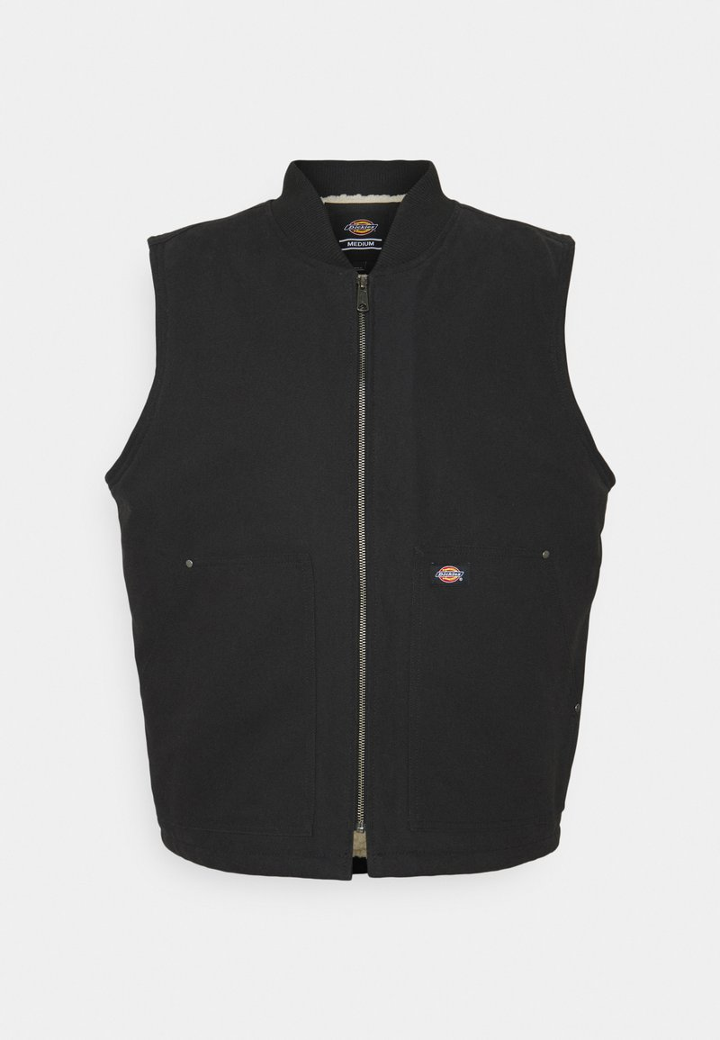 Dickies - DUCK VEST - Waistcoat - black