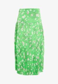 Never Fully Dressed - BLOSSOM BEATRICE SKIRT - Minisukně - green - 4