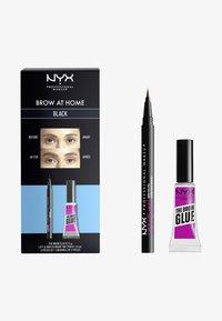 Nyx Professional Makeup - BROW AT HOME SET - Makeup set - black - 0