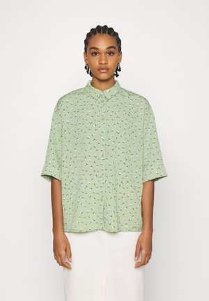 TAMRA BLOUSE - Button-down blouse - green