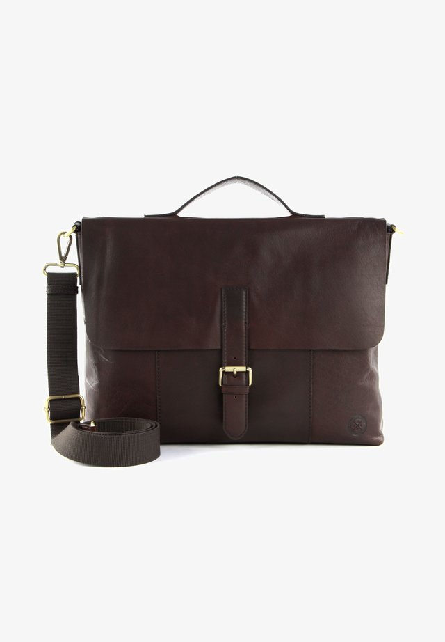 ÅLESUND - Laptop bag - dark brown