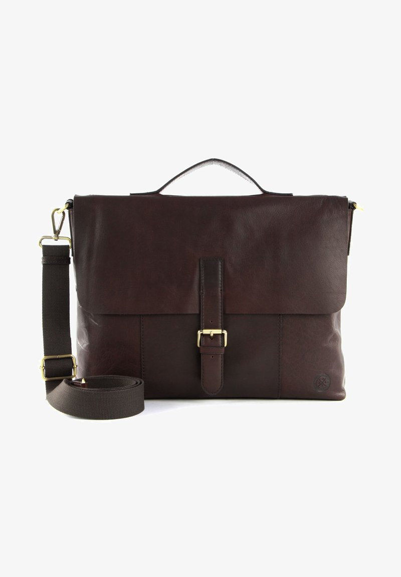 Saddler - ÅLESUND - Laptop bag - dark brown