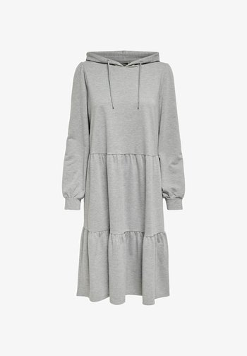 JDYMARY DRESS - Day dress - light grey melange