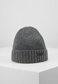 Barbour - CARLTON BEANIE - Beanie - grey - 0