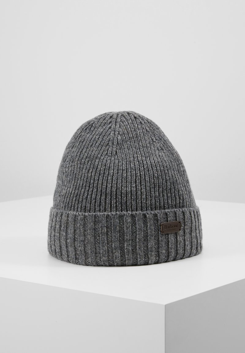 Barbour - CARLTON BEANIE - Beanie - grey
