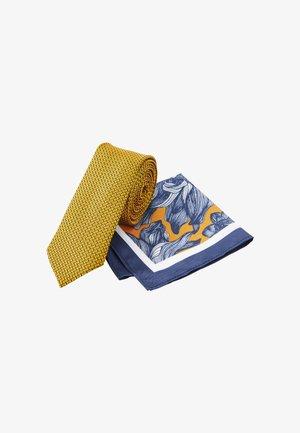 SET - Pocket square - yellow