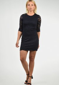 Vero Moda - EWELINA - Shift dress - dark blue - 1