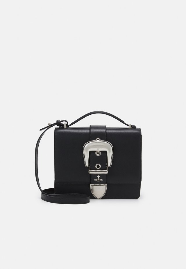 RODEO SMALL SHOULDER BAG - Bolso de mano - black