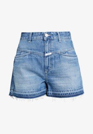JOCY X - Denim shorts - dark blue