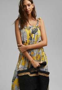 Esprit - Maxi dress - yellow - 4