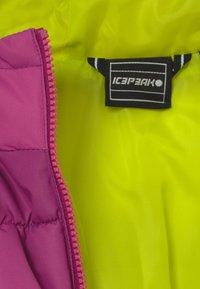 Icepeak - KIANA - Winter jacket - amethyst - 4
