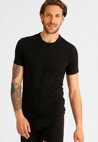 Calvin Klein Underwear - 2 PACK - Undershirt - black - 0
