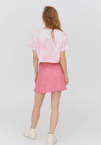 PULL&BEAR - Áčková sukně - rose - 2