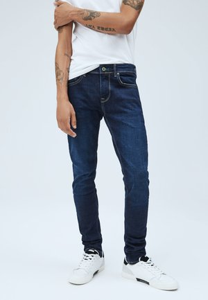 FINSBURY - Straight leg jeans - denim