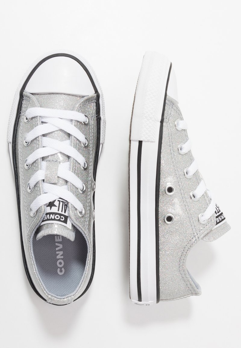 Converse - CHUCK TAYLOR ALL STAR COATED GLITTER  - Sneakers laag - wolf grey/black/white