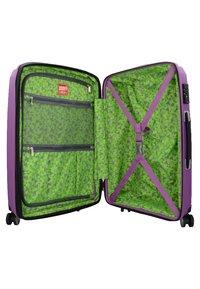 Hardware - Wheeled suitcase - purple - 3