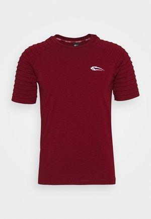 HERREN RIPPLEZ - T-shirt med print - bordeaux