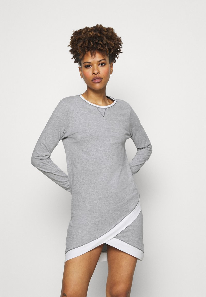 Esprit - ALDERCY NIGHTSHIRT - Nightie - medium grey