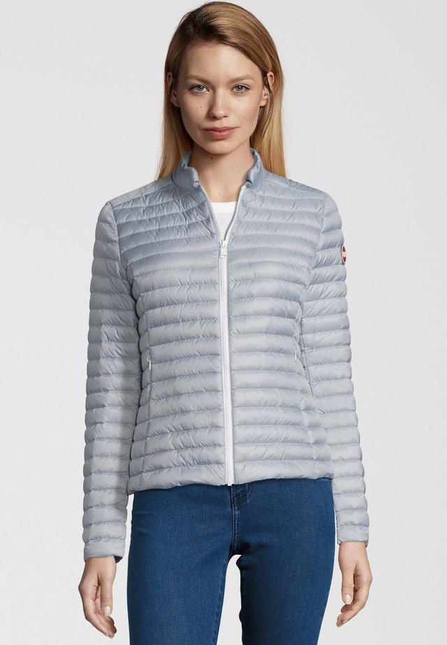 DAUNENJACKE PUNK MIT STEHKRAGEN - Down jacket - silver