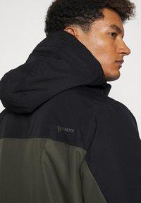 Brunotti - TRISTIN MENS JACKET - Snowboardová bunda - pine grey - 5