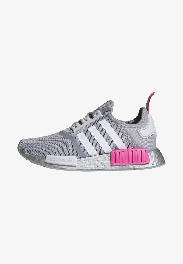 NMD_R1 SHOES - Tenisky - halo silver/ftwr white/screaming pink