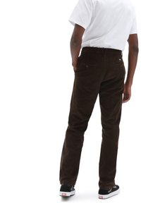 Vans - MN AUTHENTIC CHINO CORD RELAXED PANT - Trousers - demitasse - 1