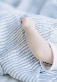 Little Unicorn - Muslin blanket - greystripe - 3