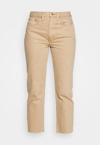 70S STOVE PIPE - Jeans slim fit - washed khaki