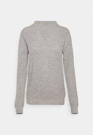 FUNNEL NECK - Jumper - light grey