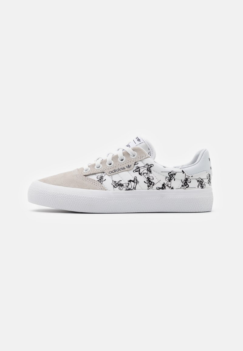 adidas Originals - 3MC DISNEY SPORT GOOFY VULCANIZED SHOES UNISEX - Sneakers laag - crystal white/footwear white/core black