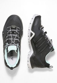 adidas Performance - TERREX SWIFT R2 GORE-TEX - Hiking shoes - core black/ash green - 1