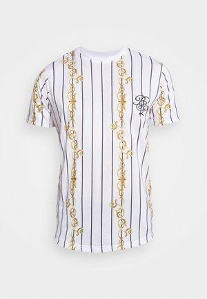 CALOR - T-shirt con stampa - optic white