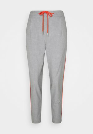 Trousers - middle grey melange
