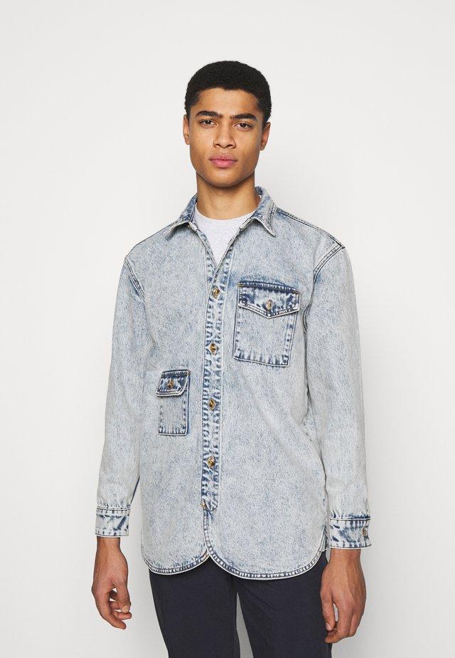 ARMY SHIRT - Skjorta - blue denim