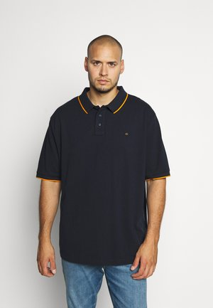 STRETCH TIPPING - Polo - blue
