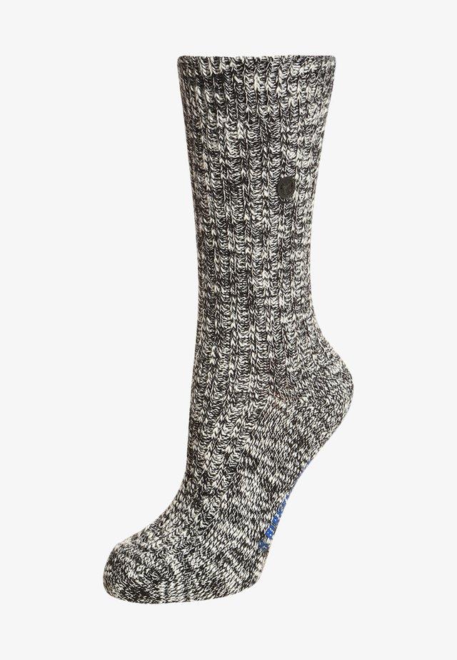 FASHION - Socks - black gray