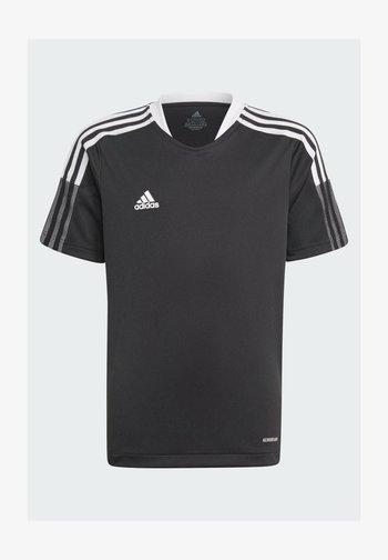 TIRO 21 TRAINING JERSEY - Sports shirt - black