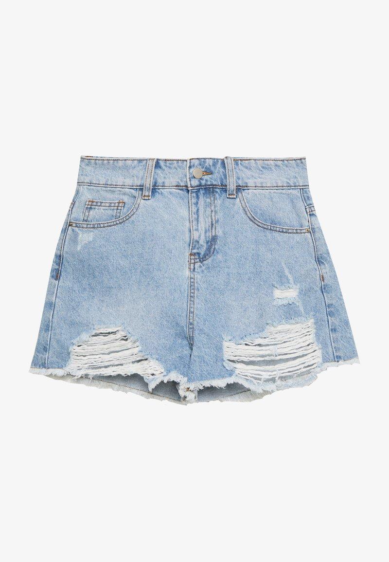 Tiger Mist - MONTANNA - Denim shorts - blue
