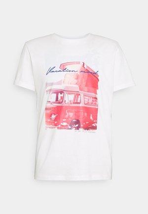 PHOTO PRINT - Print T-shirt - off white