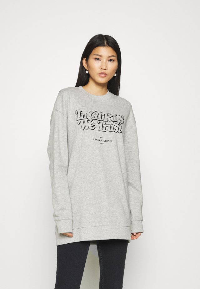 SWEATSHIRT - Bluza -  grey