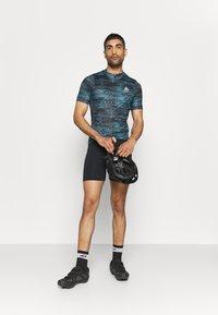 ODLO - STAND UP COLLAR FULL ZIP  - Cyklistický dres - mykonos blue - 1