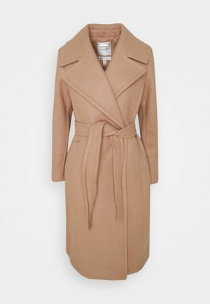 BAMBI WRAP COAT - Classic coat - camel