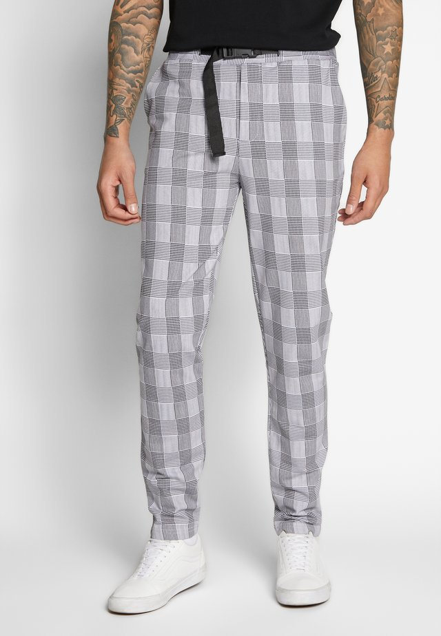 TARZADED TROUSER - Tygbyxor - grey