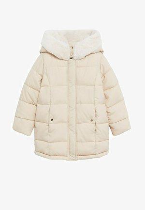 CRAYON - Zimní kabát - ecru
