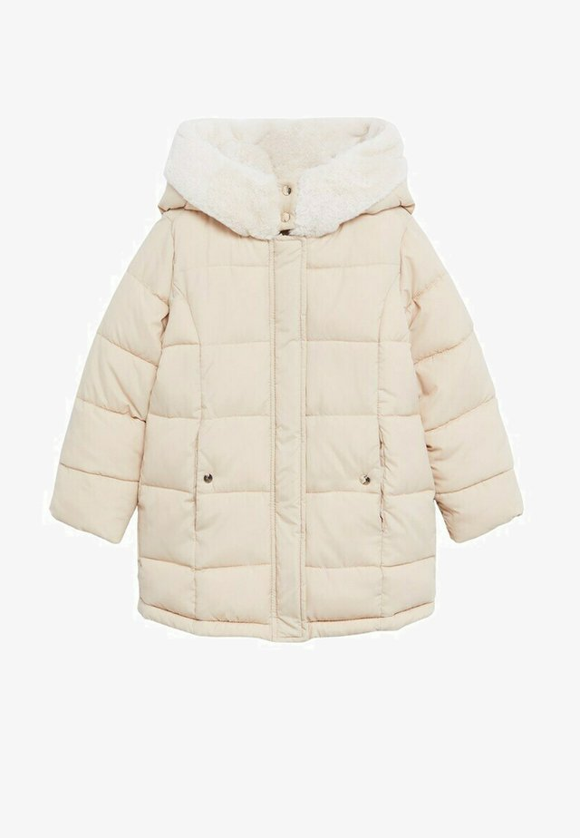 CRAYON - Winter coat - ecru