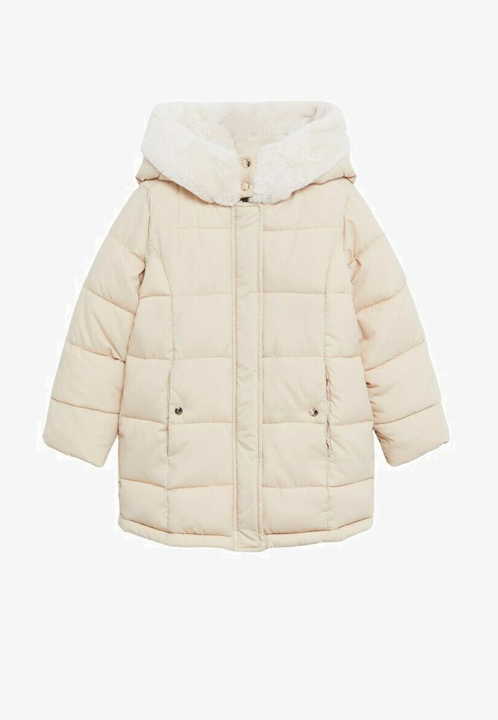 Mango - CRAYON - Winter coat - ecru