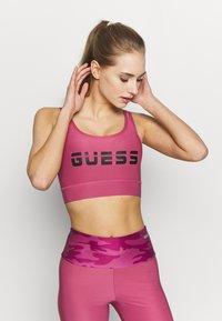 Guess - ACTIVE BRA - Sujetador deportivo - purple blush - 0